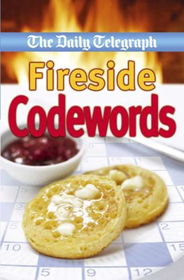 Book cover for Daily Telegraph Fireside Codewords